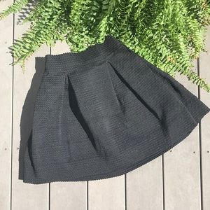 Xhilaration Black A Line Skirt